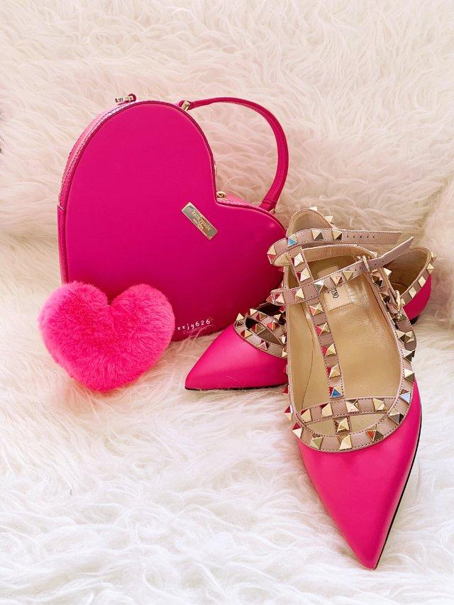 包鞋一个色——粉(2)