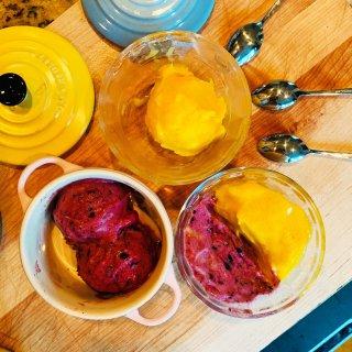 冰淇淋控的夏日盛宴| 在家制作零奶零脂肪50卡以下的🍦