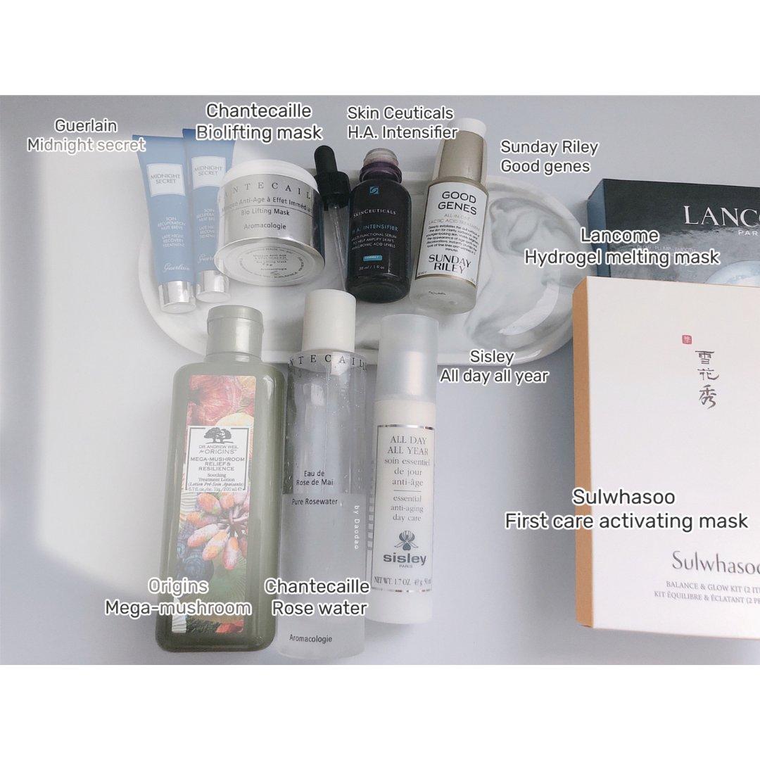 空瓶记|八月空瓶 (护肤类)