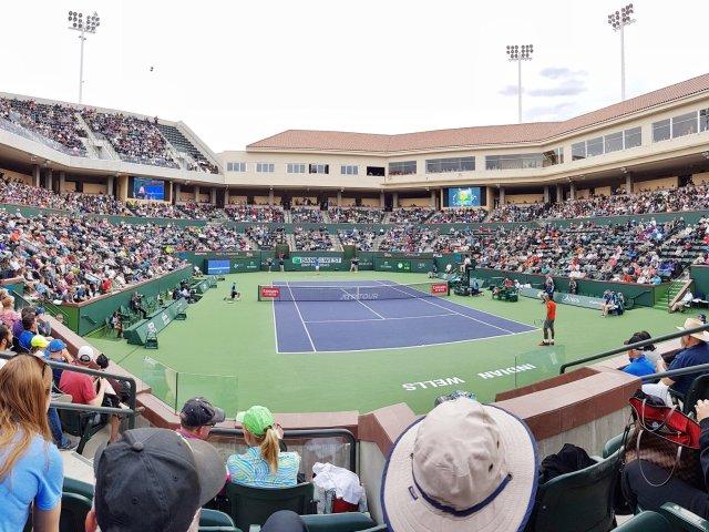 又去看Indian Wells网球...