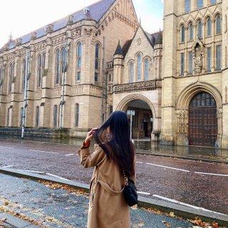 秋天|雨后的曼彻斯特大学🤎🧡...