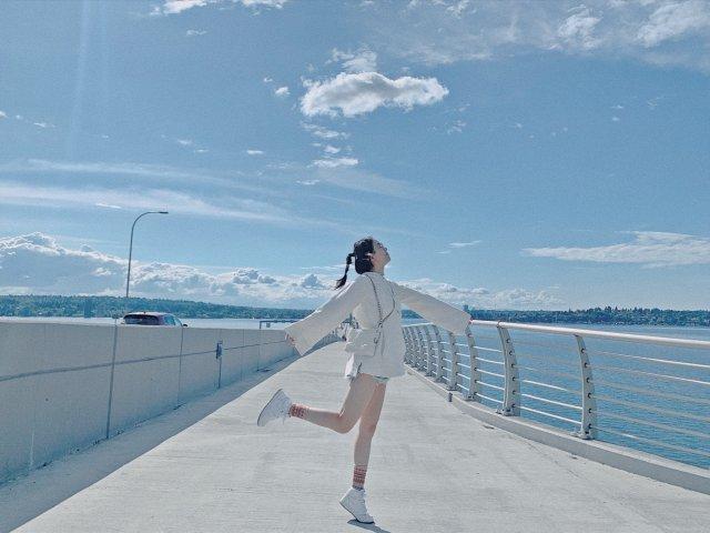 周末穿搭▪️520浮桥公园☁️好天...
