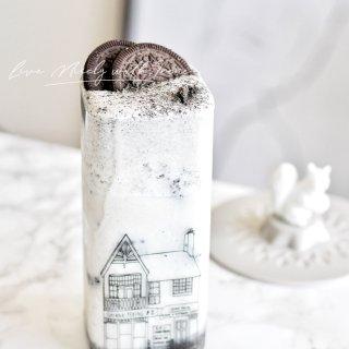 黑芝麻奶盖牛乳🥛普通的饮品喝出花样来~...