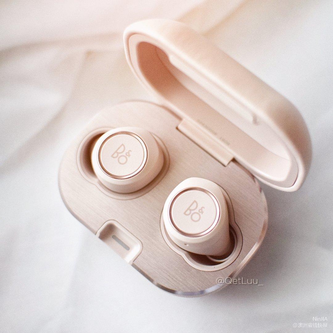 生日礼开箱 颜值担当B&O桜花粉耳机...