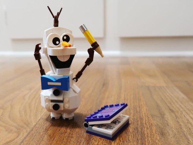 |朝朝暮暮|超级萌的Lego Ol...