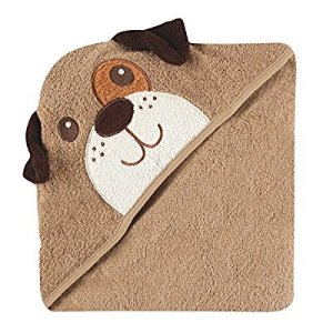$10Luvable Friends Animal Face Hooded Towel, Dog