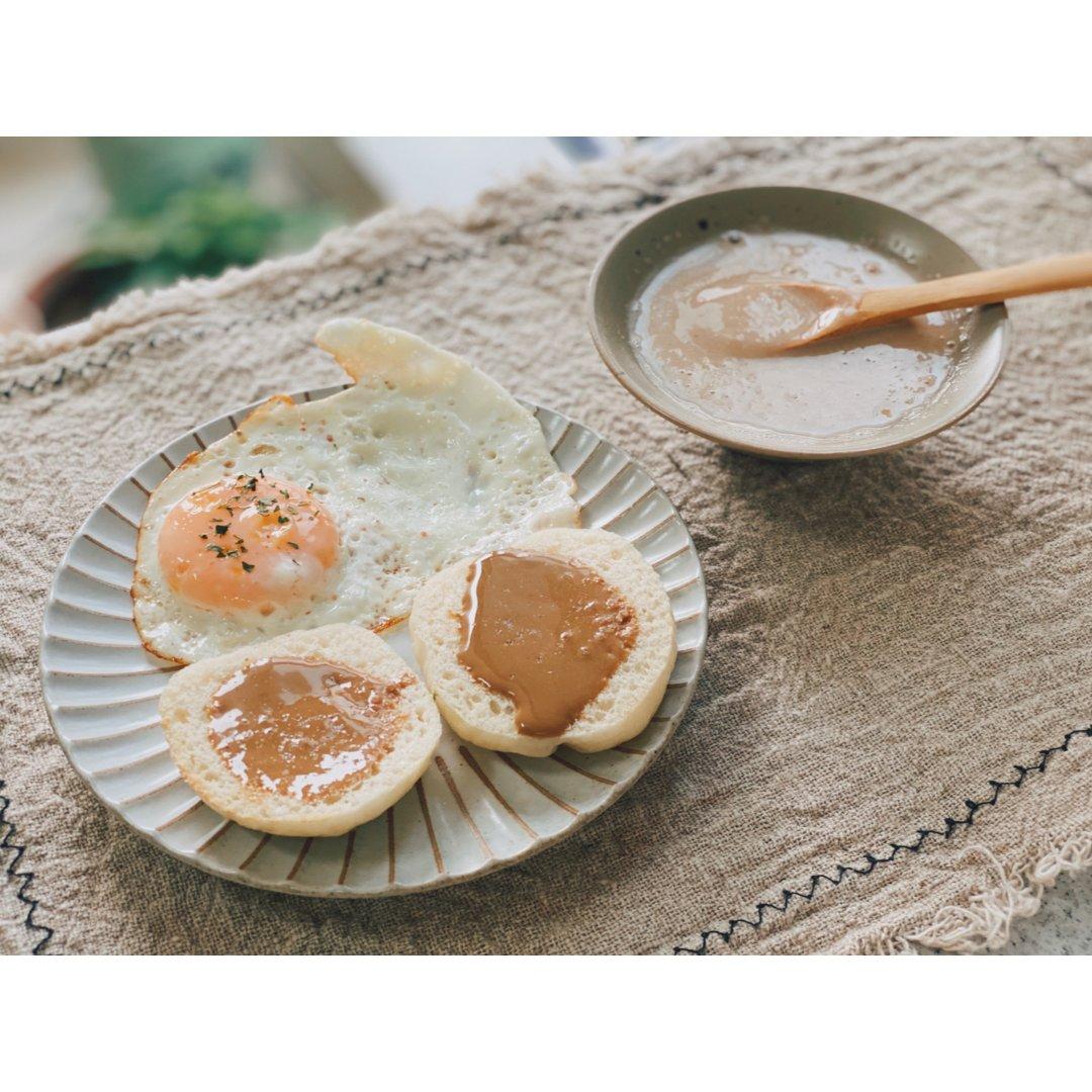 早餐|麻酱的两个究极吃法。
