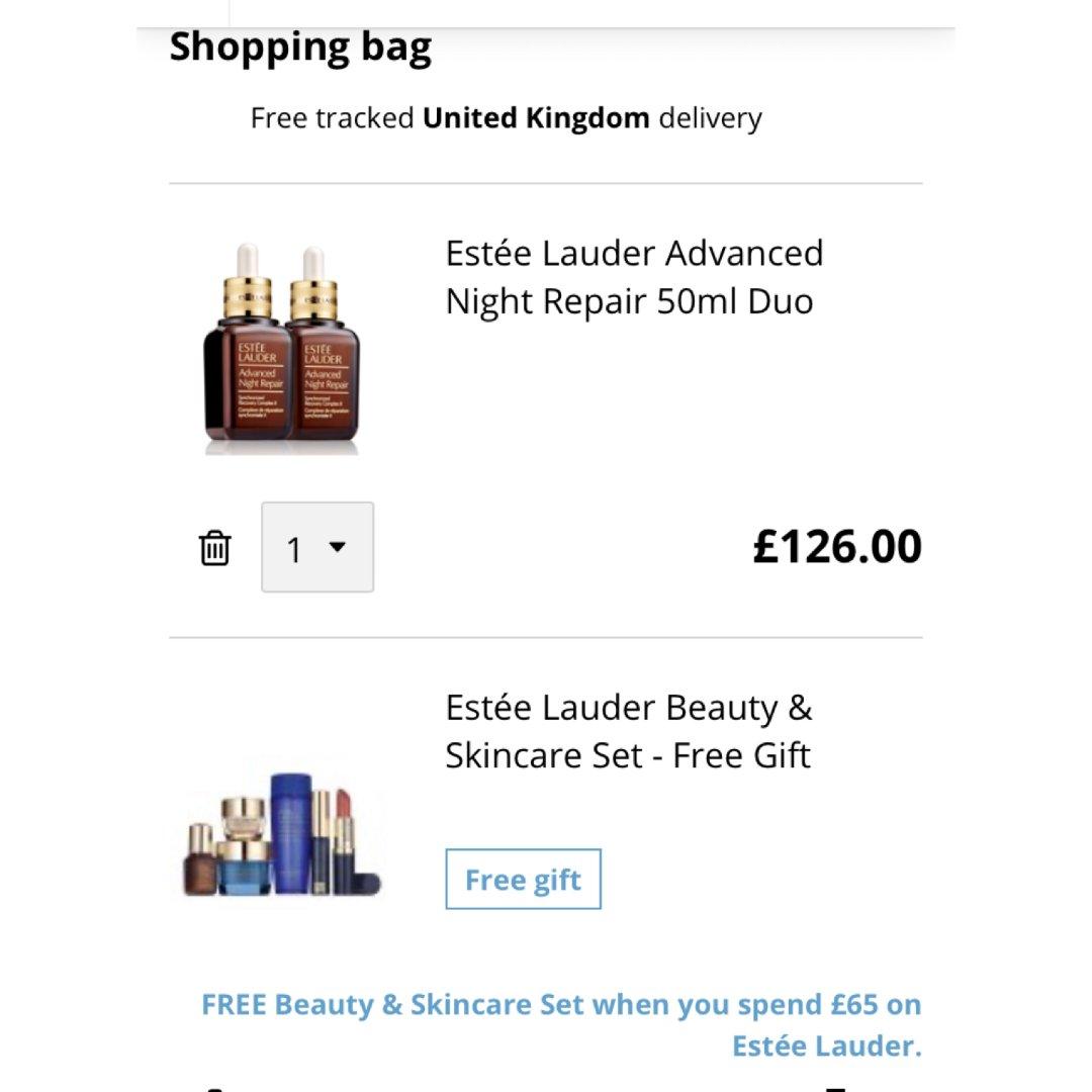 107镑收100毫升小棕瓶➕三套赠品!...