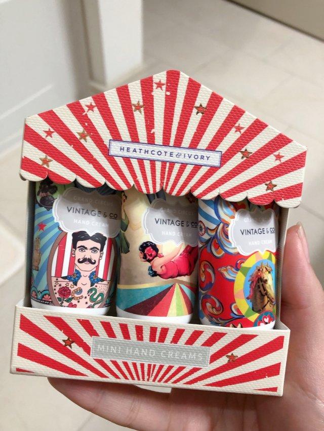 VINTAGE&CO马戏团护手霜礼盒