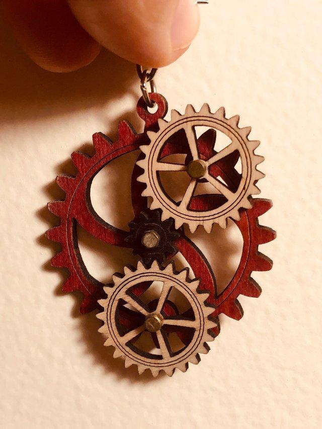❣️饰品分享|轮轴耳环❣️