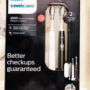 Sonicare 6100 新款美白电动牙刷 HX6877/21 粉色
