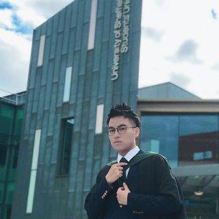 谢菲最帅毕业生🎓...