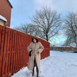 苏格兰的美丽雪景...