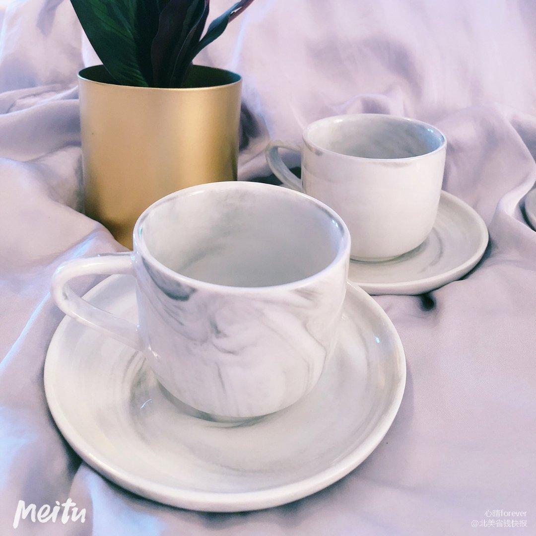 Tj Maxx 买到的大理石茶杯套装