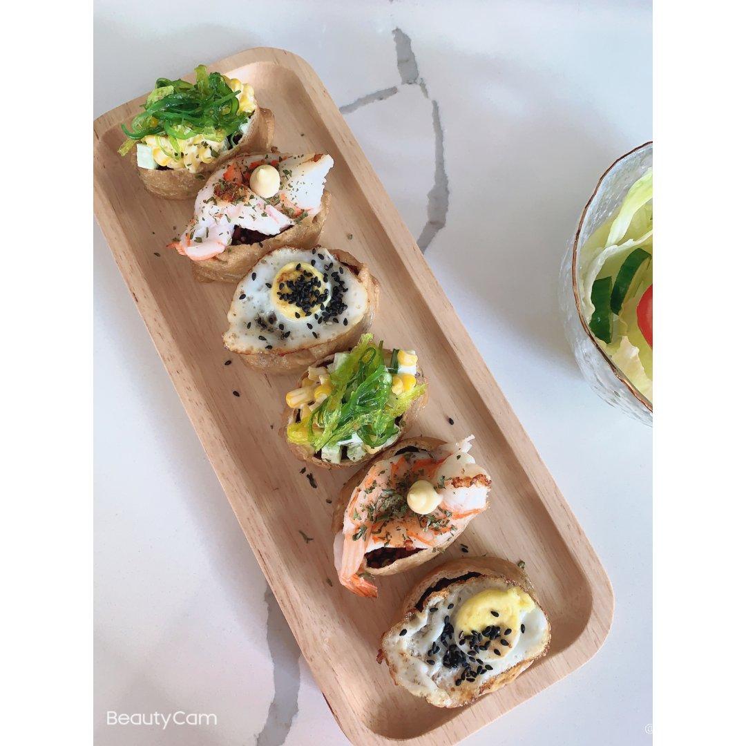 法兰西午餐系列之———腐皮寿司🍣