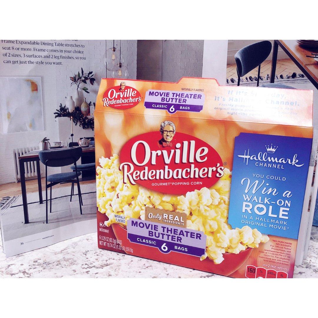 Orville微波爆米花🍿️