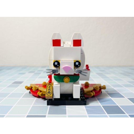 乐高Brickheadz·会招手的招财猫