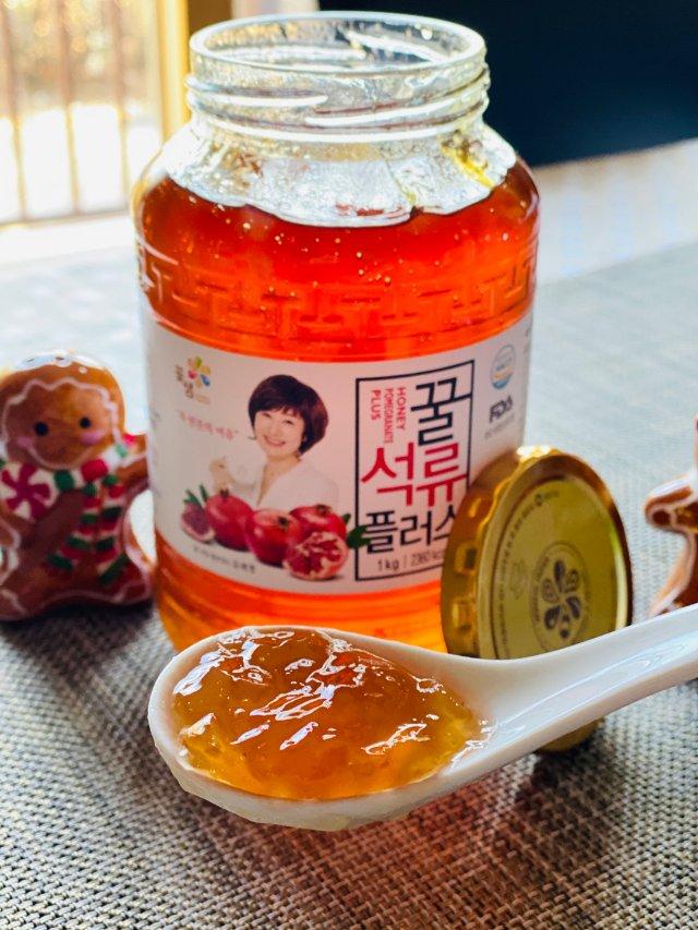 好物推荐:来自韩国的蜂蜜石榴饮🥤