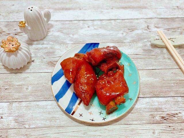 晚餐小饭桌之红烧猪蹄