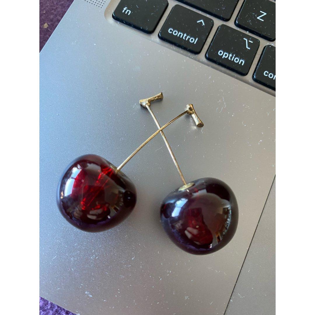 櫻桃🍒耳環