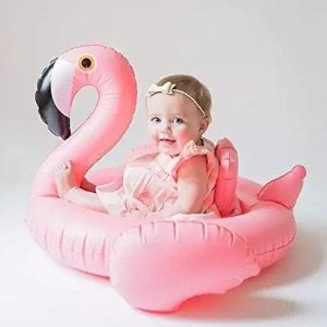 Amazon.com: Oima Baby Flamingo Inflatable Pool Float - Inflatable Baby Infant Flamingo Swim Ring Pool Float - Popular Baby Infant Swimming Toy - Learn Swimming For Baby Infants: Home & Kitchen