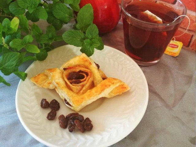 我家厨房| 葡萄干苹果丹麦酥
