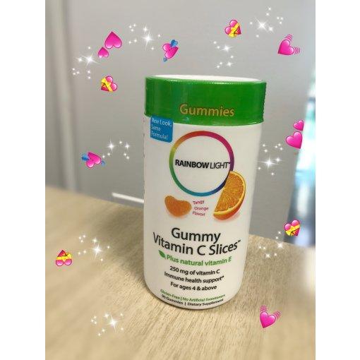 【微众测】好吃的rainbow 柑橘味vc软糖