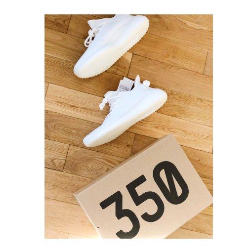 美鞋打卡第1天   Yeezy 350 Triple Whi