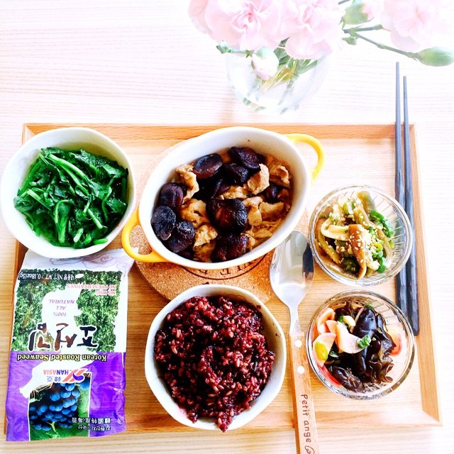 喜欢吃糙米,杂粮,杂豆,全谷物饭的...