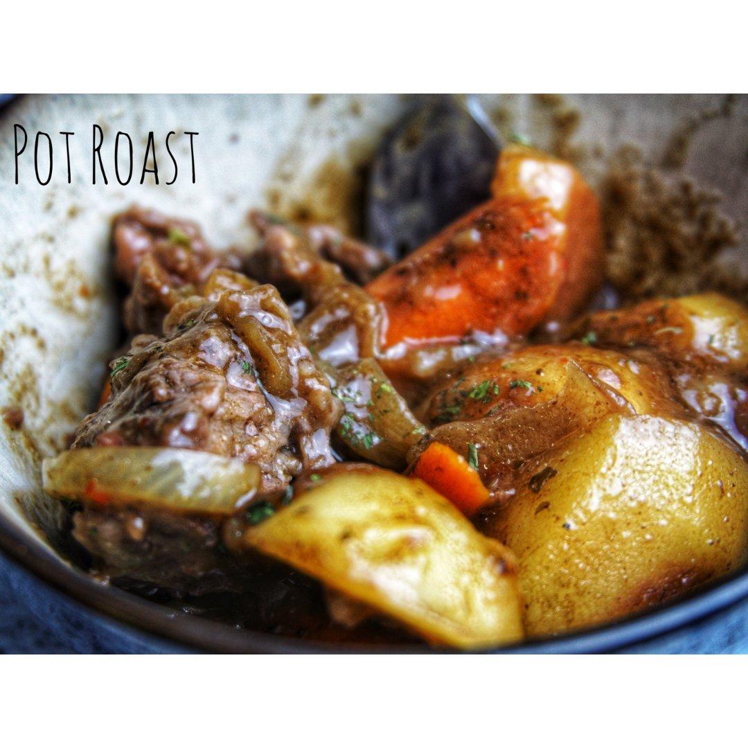 无敌简单的美式Pot Roast