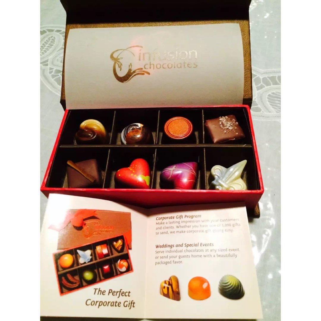 情人节💗礼盒🎁:精致特殊的松露巧克力🍫