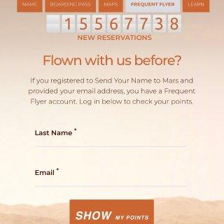 给大家送一张去火星的船票!...