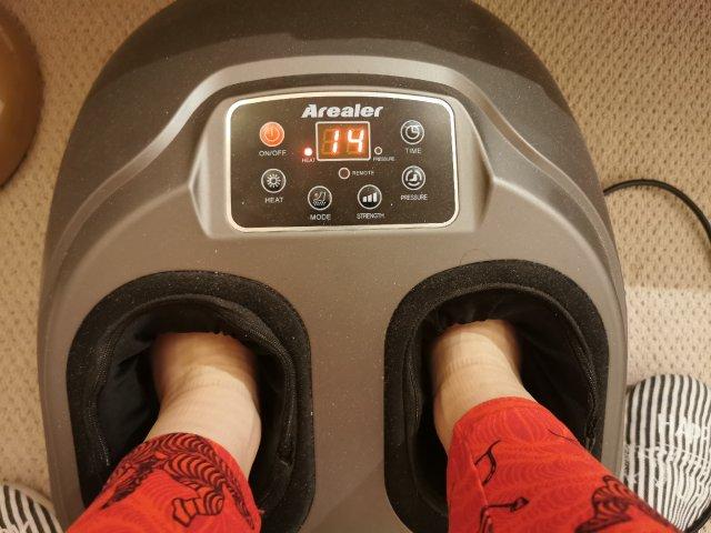 Arealer多功能脚部按摩器👣睡前必备