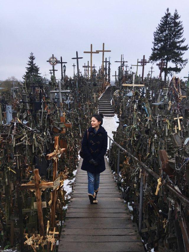 立陶宛|十字架山