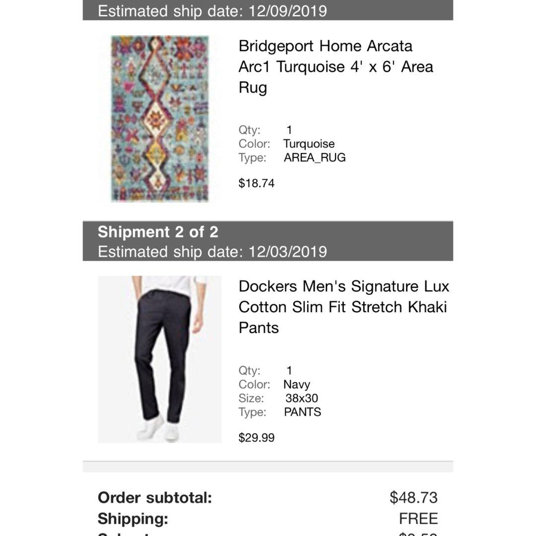 黑五Macys $18 买到地毯