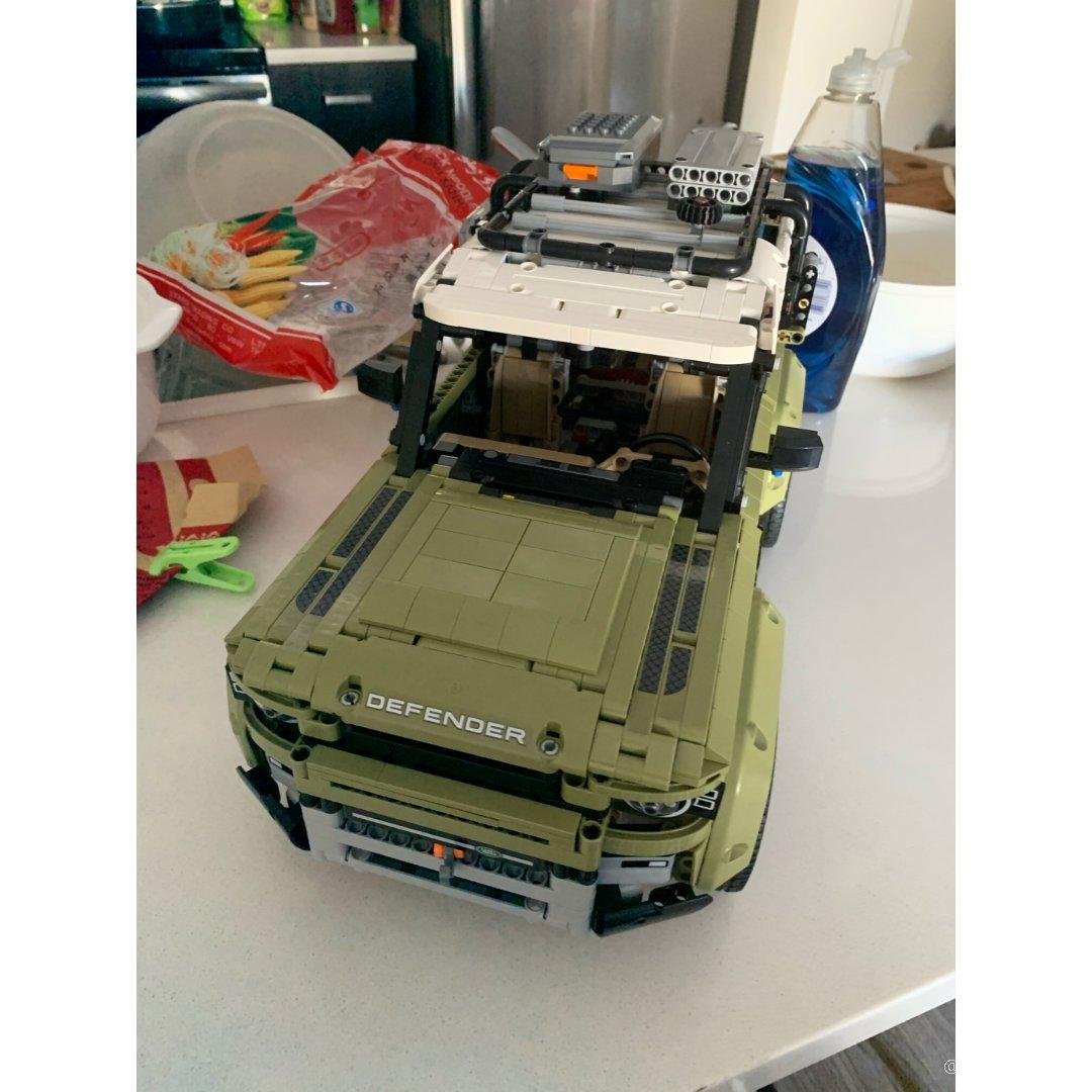 乐高玩具车