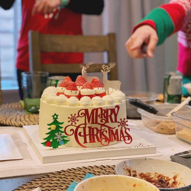 你的聖誕蛋糕是什麼樣子的呢⁉️ 我...