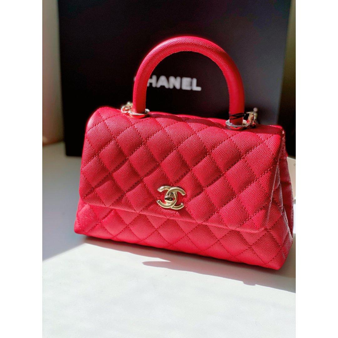 🌈挑战2⃣️玫红色Chanel c...