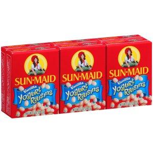 Sun-Maid Vanilla Yogurt Raisins, 1 Oz, 6 Ct - Walmart.com