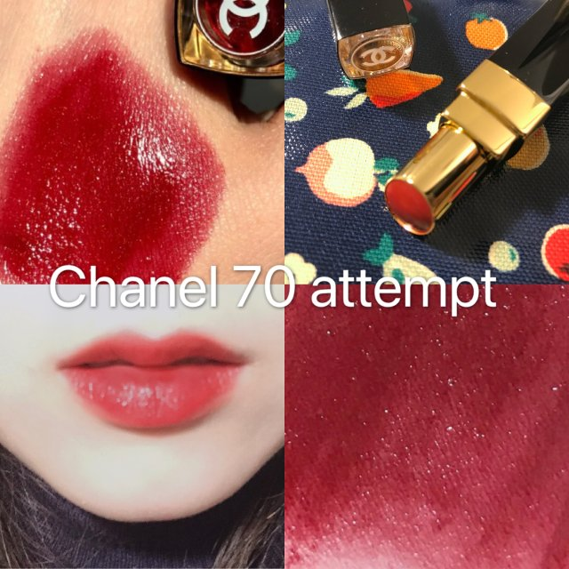 Chanel 70 Attempt