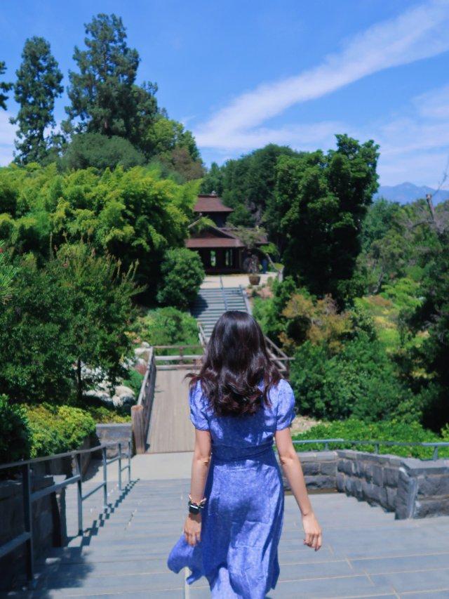 小花裙子&逛公园的周末