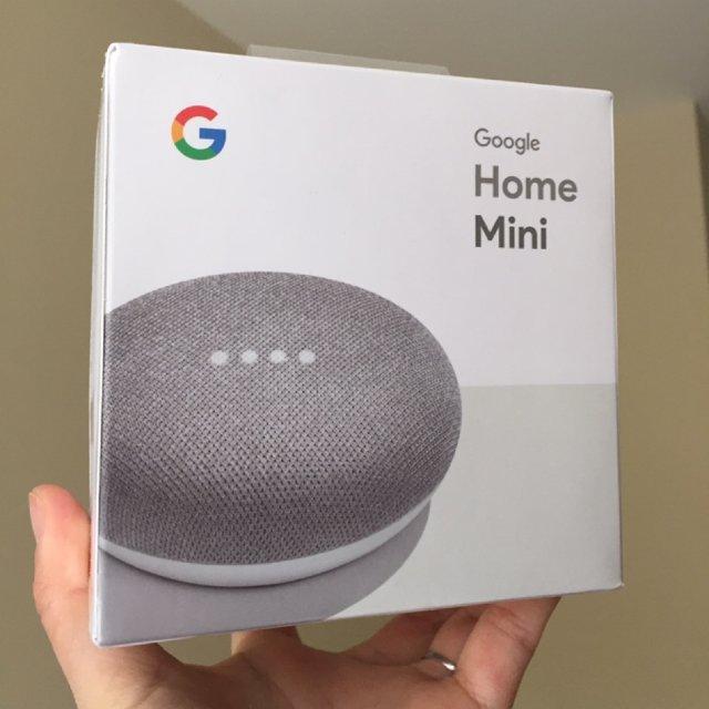 得意的一枚战利品google mini