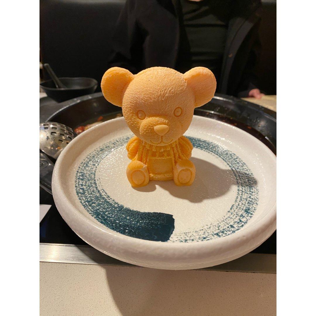 小心锅里有熊!LA超可爱熊火锅