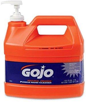 $12.79 (原价$27.84)Gojo 0955 天然洗手液 1加仑超大瓶 橘子香味