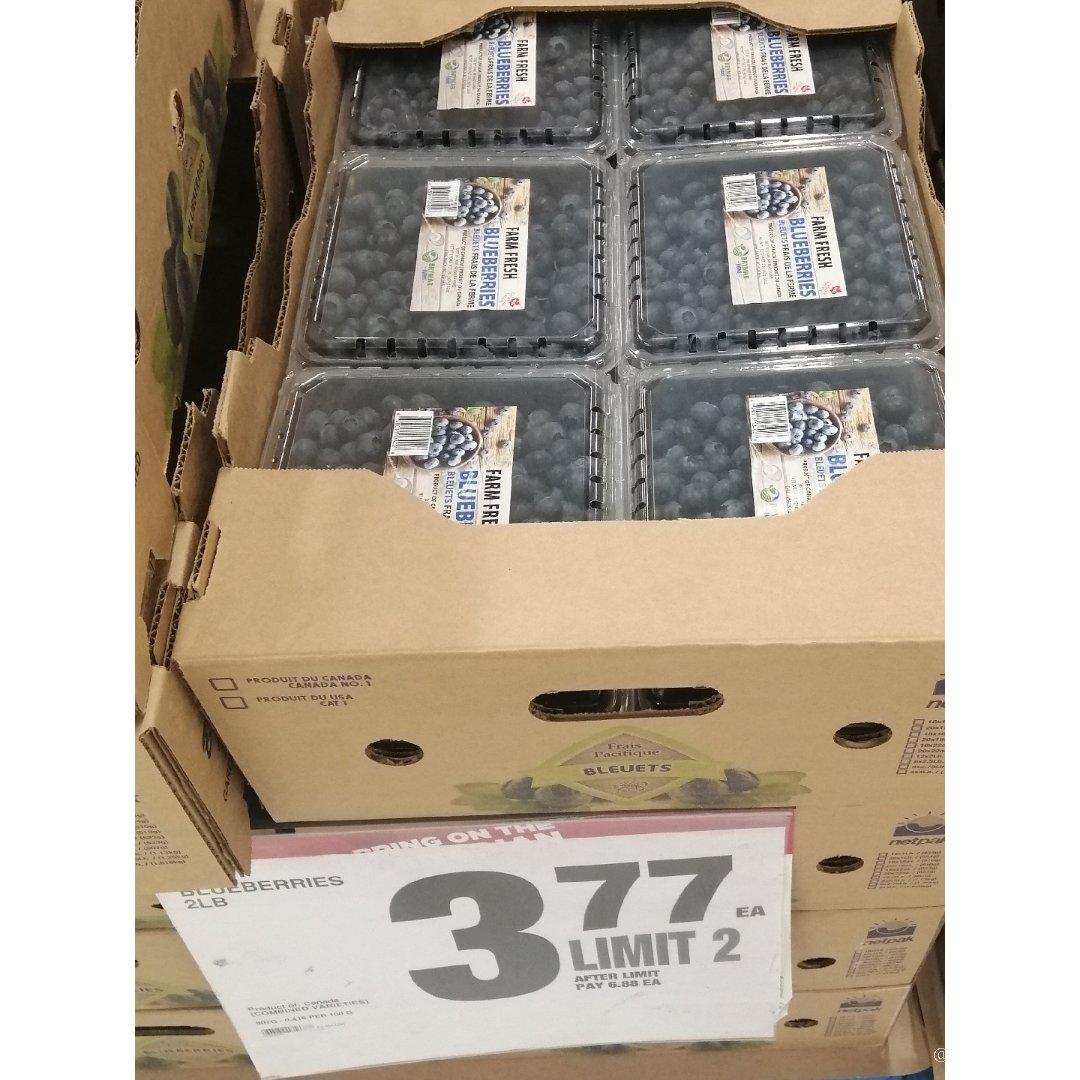 蓝莓好便宜啊😄😄