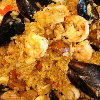 家喻户晓的西班牙paella海鲜烩饭✨✨...