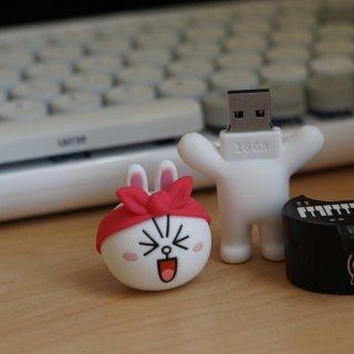 明明能靠性能吃饭,非要靠颜值USB-Line Friend