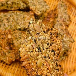 #Keto Crackers#健康营养的...