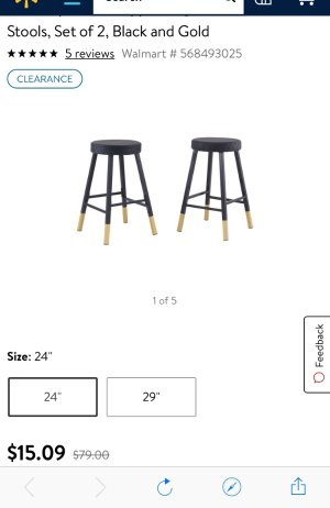 Fantastic Mainstays Metal Dipped Leg Backless Counter Stools Set Of 2 Machost Co Dining Chair Design Ideas Machostcouk