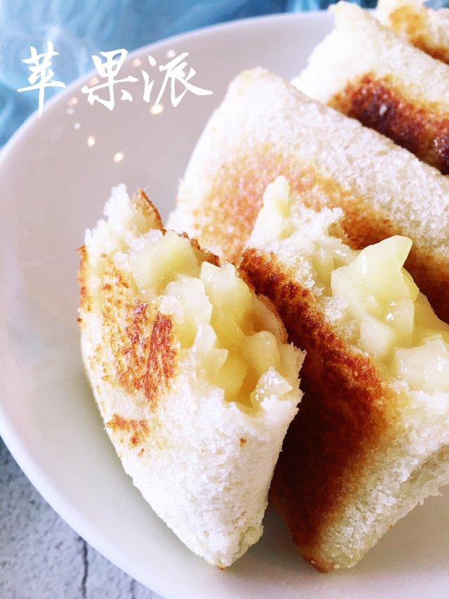 ✨早餐吃什么 |懒人版苹果派✨